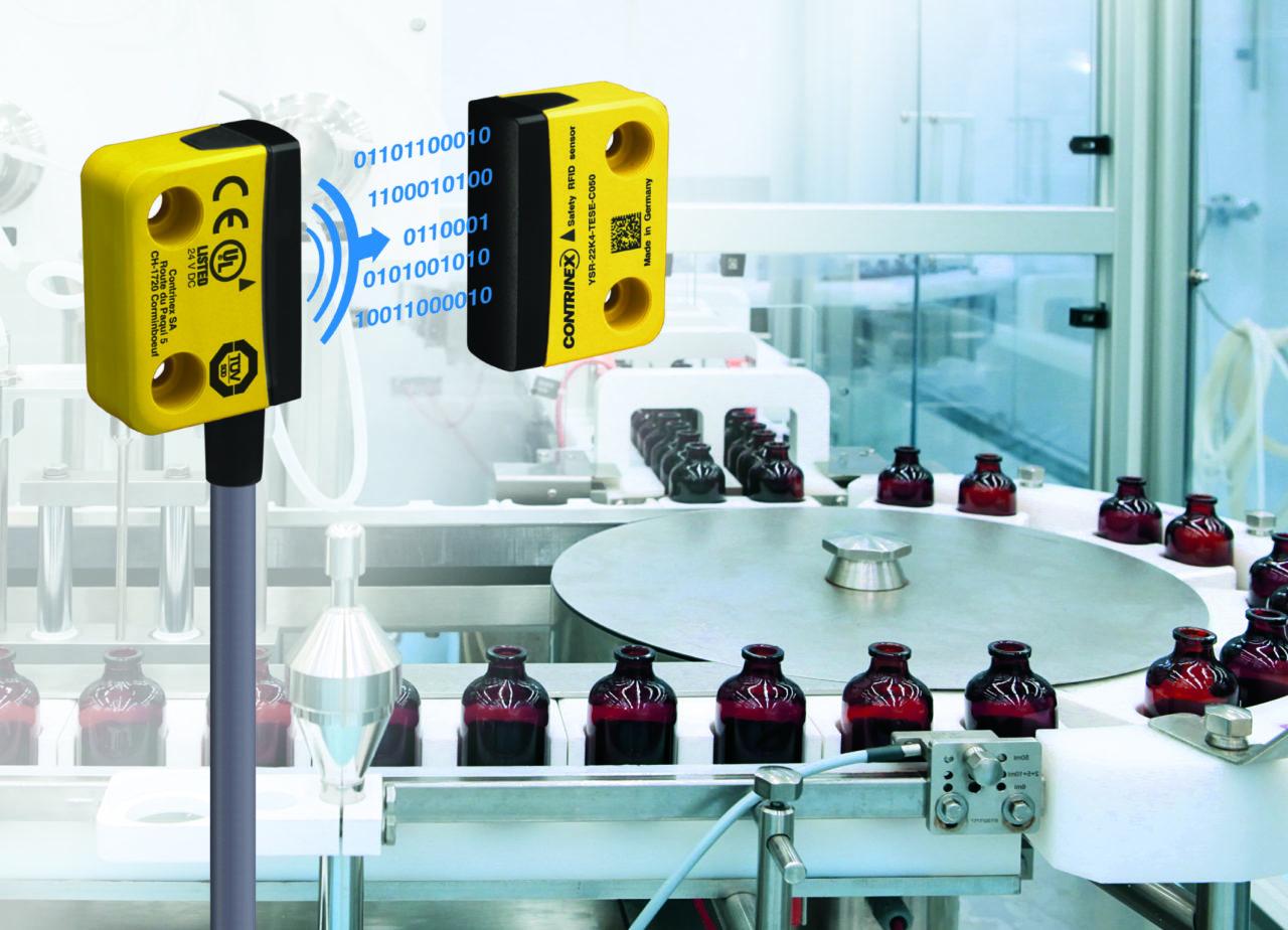 Sensores RFID Contrinex
