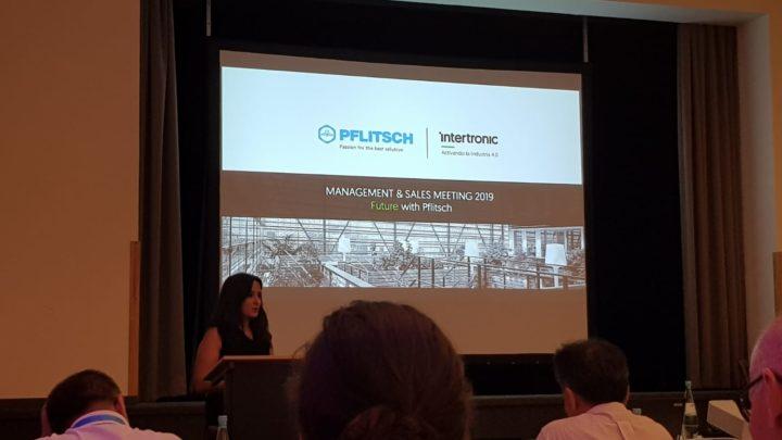 Presentación Intertronic en PFLITSCH