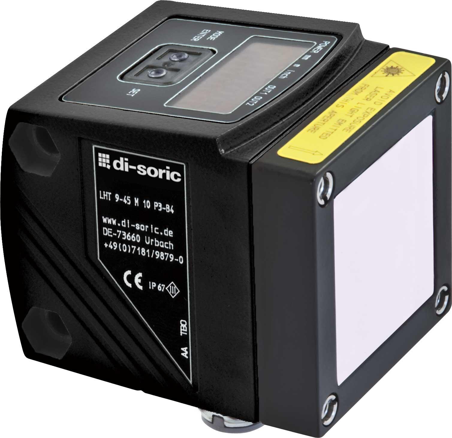 Sensor-de-distancia-laser---LHT-9-45-M-10-P3IU-B4